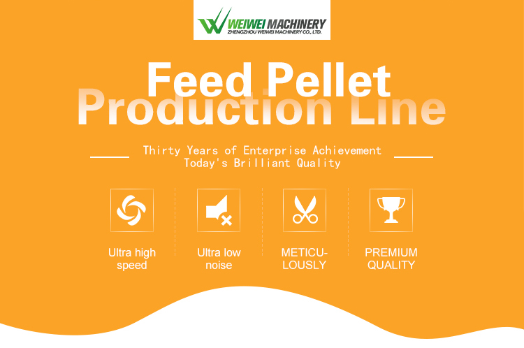 Weiwei competitive automatic dog feed production line