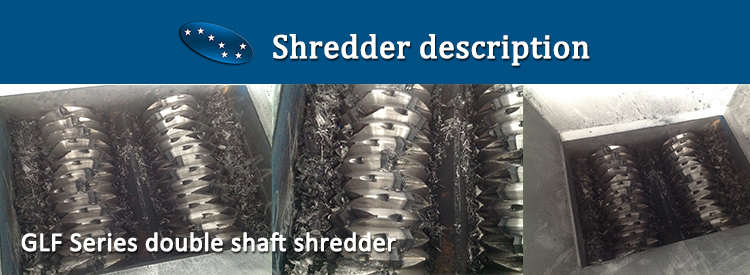 big used plastic Polythene shredder