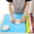 70X70 Reusable Silicone Table Mat Child Kids Dinner Placemat Desk Countertop Waterproof Protector Heat Insulation Kitchen Pastry