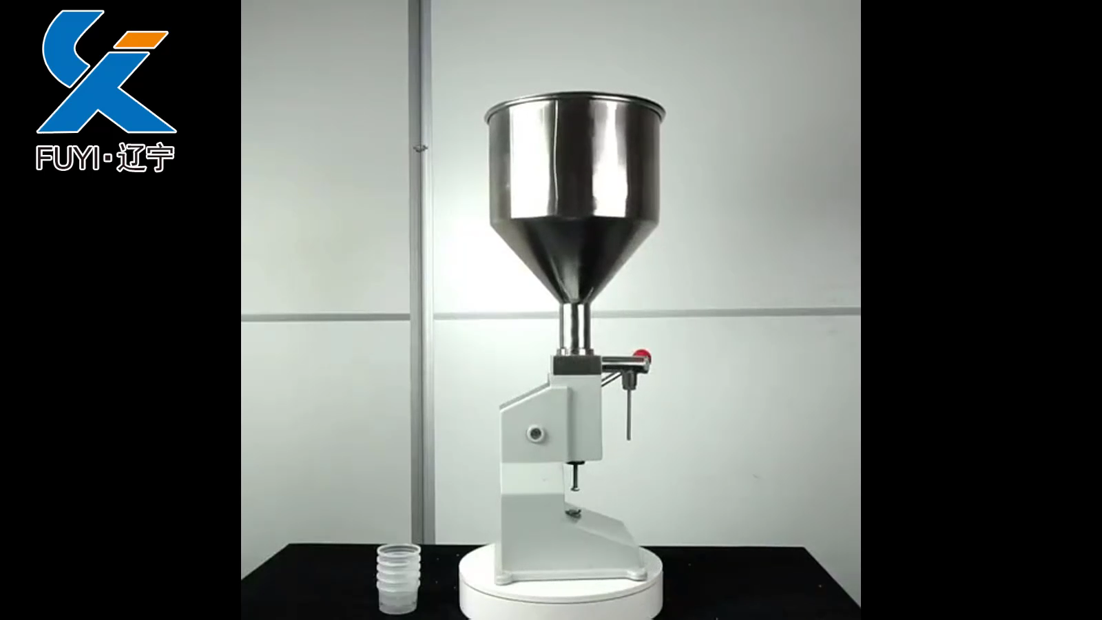 A03 Manual Cream Filling Machine/Paste Filler 5-65ML