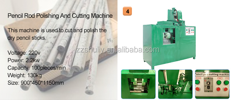 Recycled paper pen making machine Paper pencil making machine with best quality and low price
