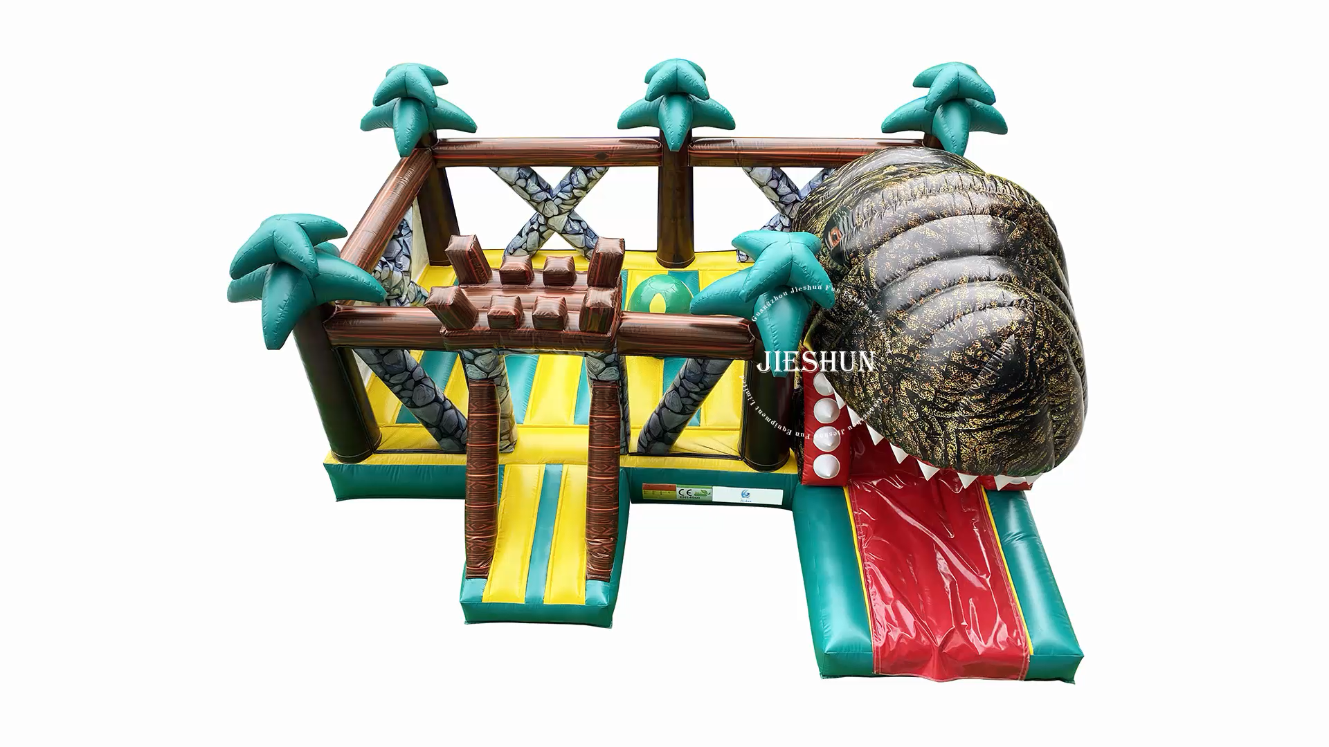 Custom Inflatable Bouncer Adults and Kids Lbig Playground Dinosaur Bounce House Inflatable Jumping Castle 5 to 7 Years Unisex UL