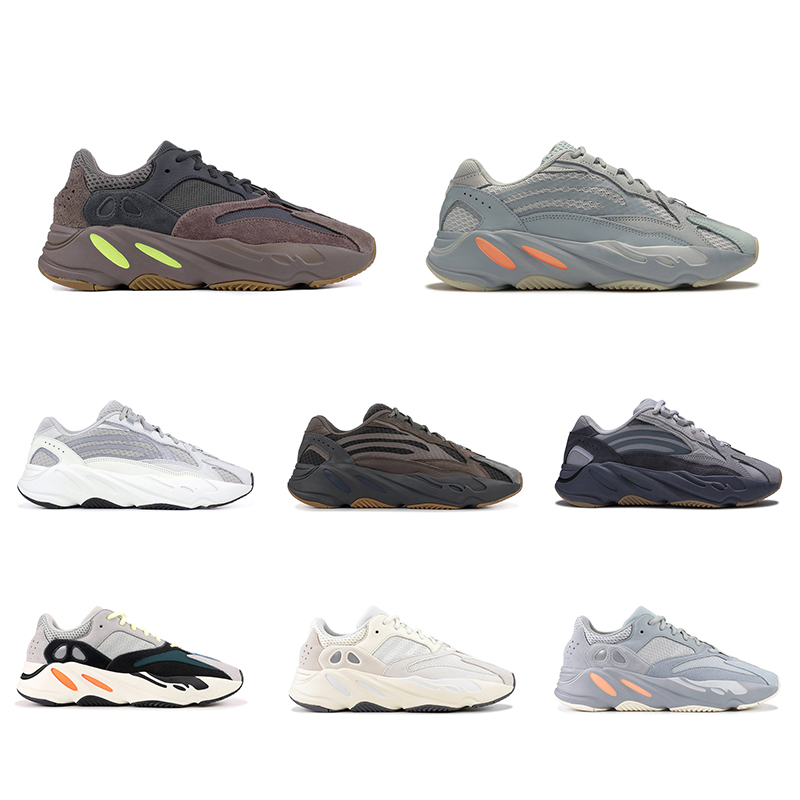 Stylish Breathable Knit Upper Men Sports Shoes with -E-TPU Sole 700 V1 & V2 Men Sneakers