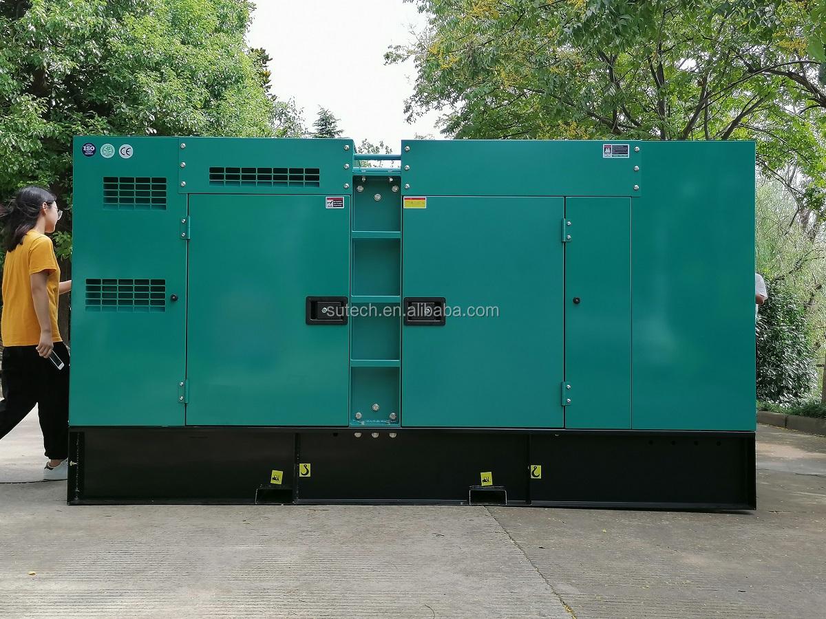 7/24 continuous run 160kw generator set powered by engine 6CTAA8.3-G2 Cummins 50hz 200kva diesel generator