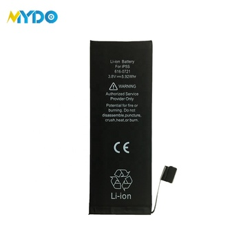 China factory price full capacity battery for iphone 5S