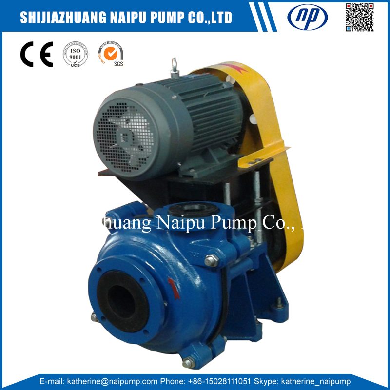 25ZJ Standard or Nonstandard Abrasive Slurries Corrosives Mining Slurry Slime Pumps