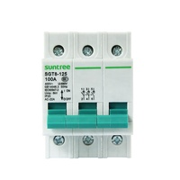 low voltage three pole AC electrical Isolating switch 3 phase disconnector