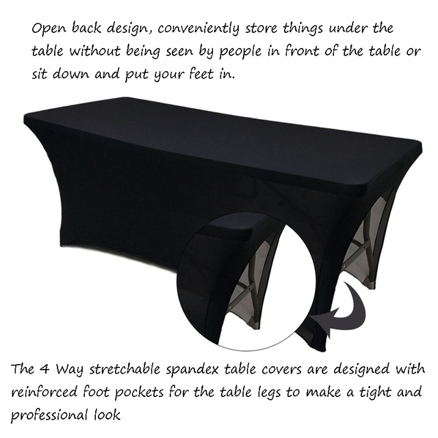 Private Label Spandex Table Covers Personalised Ed Sheet