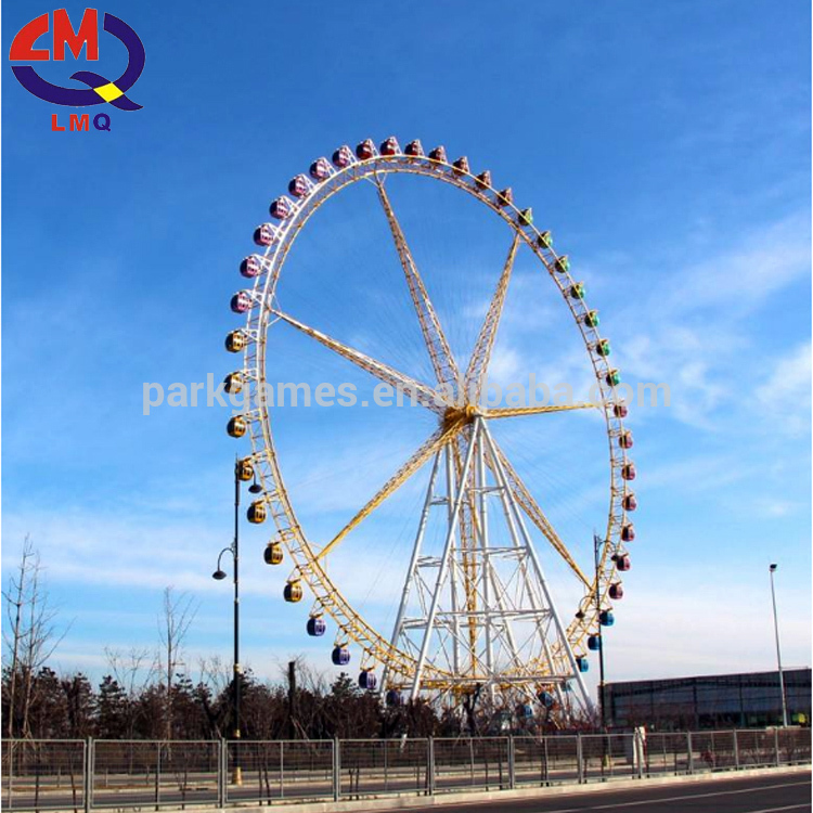children gondola wheel amusement park equipment 42m ferris wheel for sale