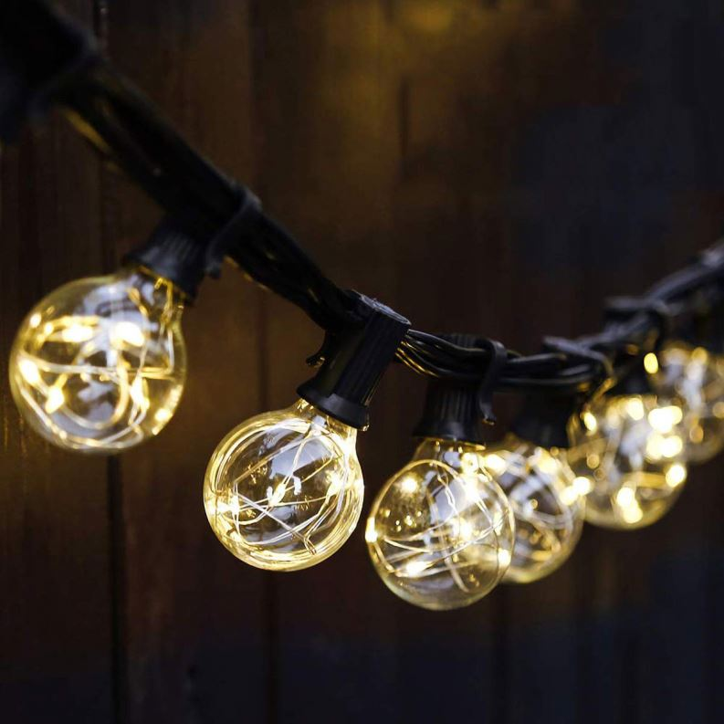 China Supplier Indoor Outdoor Decorative LED Bulb Fairy String Light