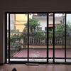 Warm White Aluminum Clear Glass Sliding Window With Fiberglass Flyscreen