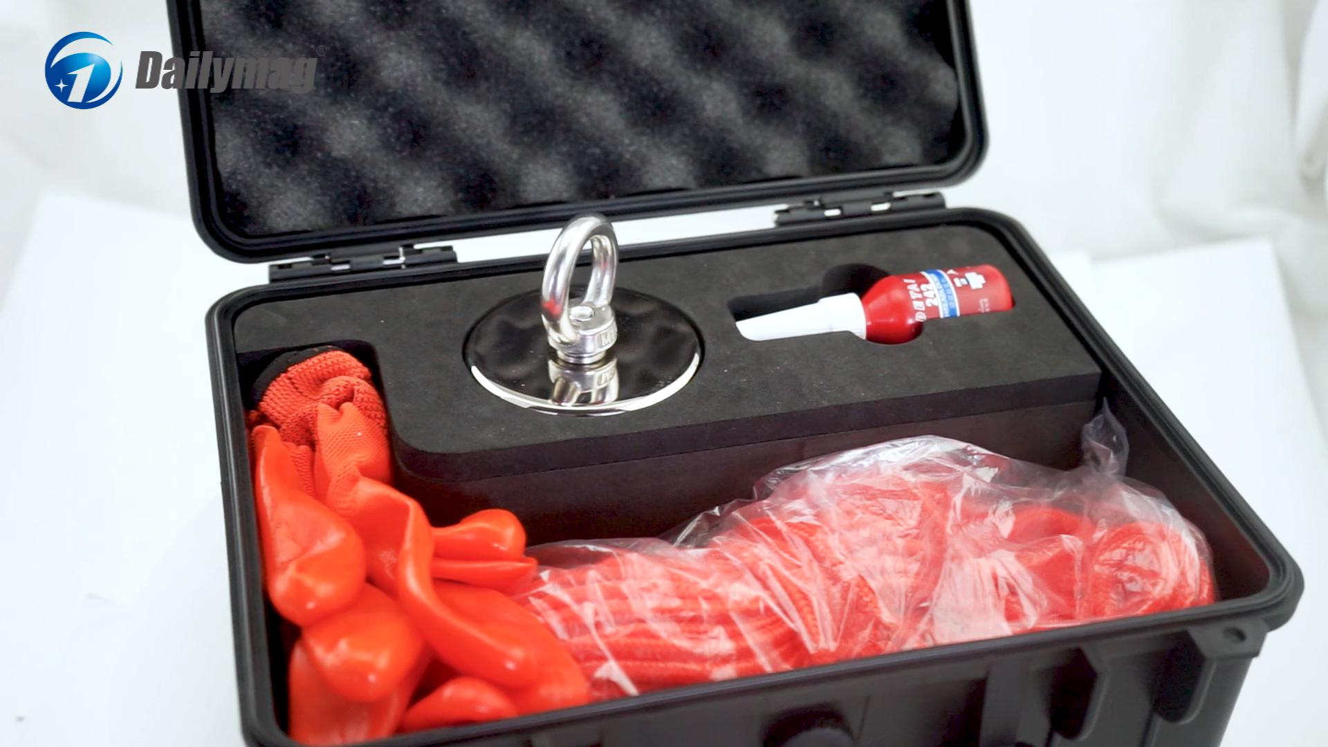 Customized 500lbs neodymium fishing magnet
