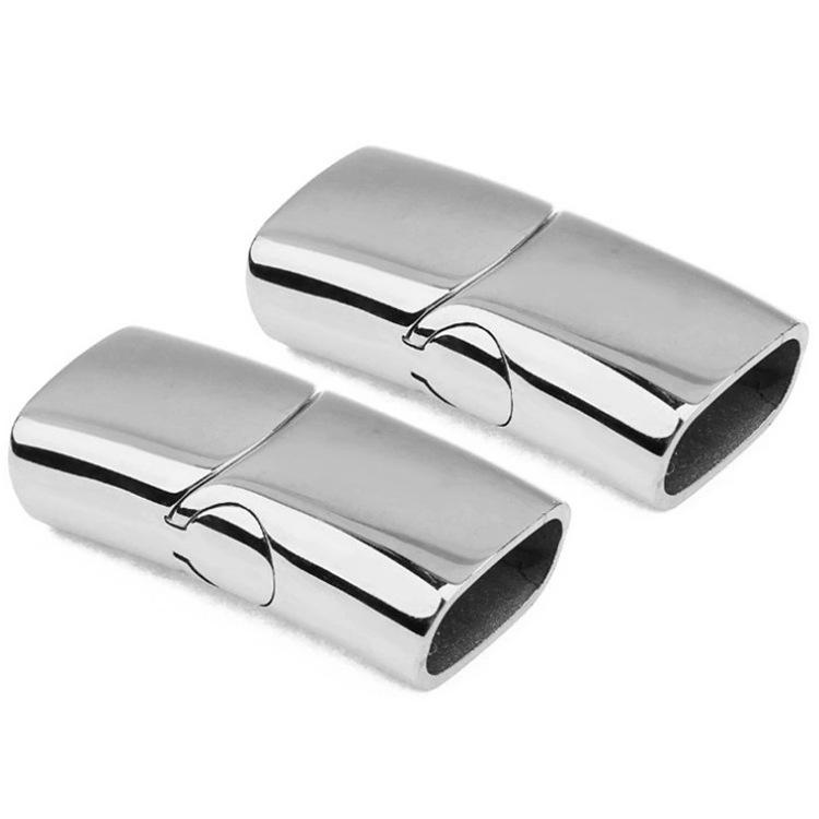 आभूषण अवयव की आपूर्ति 6mm स्टील स्टेनलेस सामान गहने फैशन गौण बनाने निष्कर्ष आभूषण चुंबकीय अकवार
