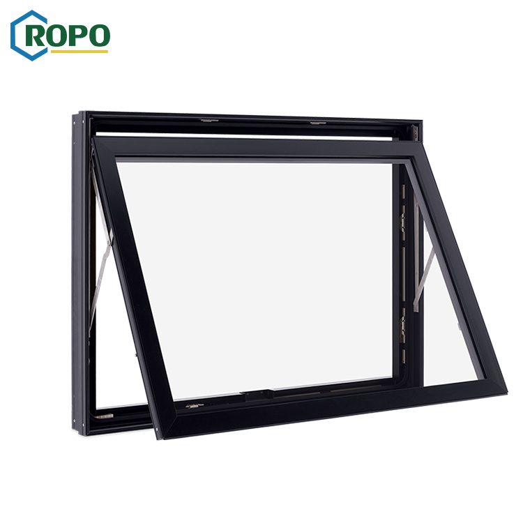Australia Standard Blind Glass Skylight Aluminum Profile Transom Awning Window