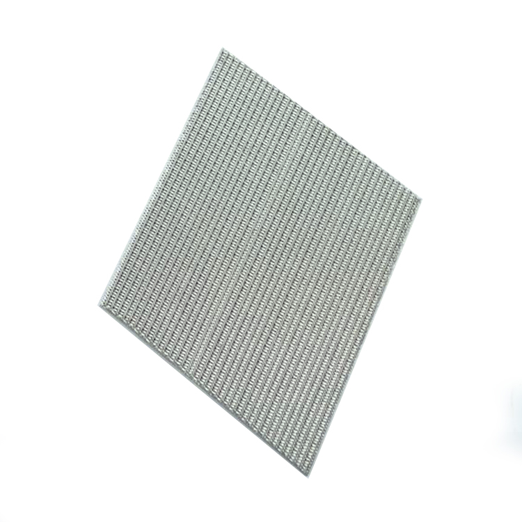 Sintered stainless steel mesh for cylinder filter