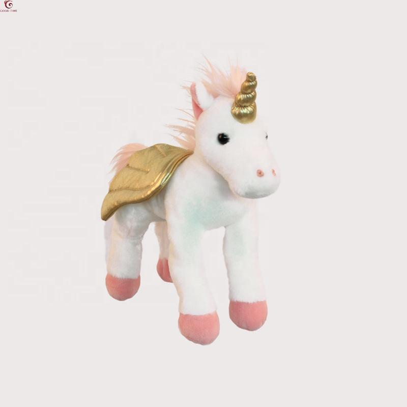 Personalizzato Bella Rosa Grandi Unicorno Farcito Animale di Peluche Giocattolo Del Bambino Peluche Giocattolo