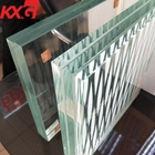 Australia UAE Dubai Use Toughened Laminated Glass Price 12.76mm 17.52mm Tempered laminated glass balcony railing