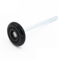 Wear-resistant chinese steel garage rollers for door