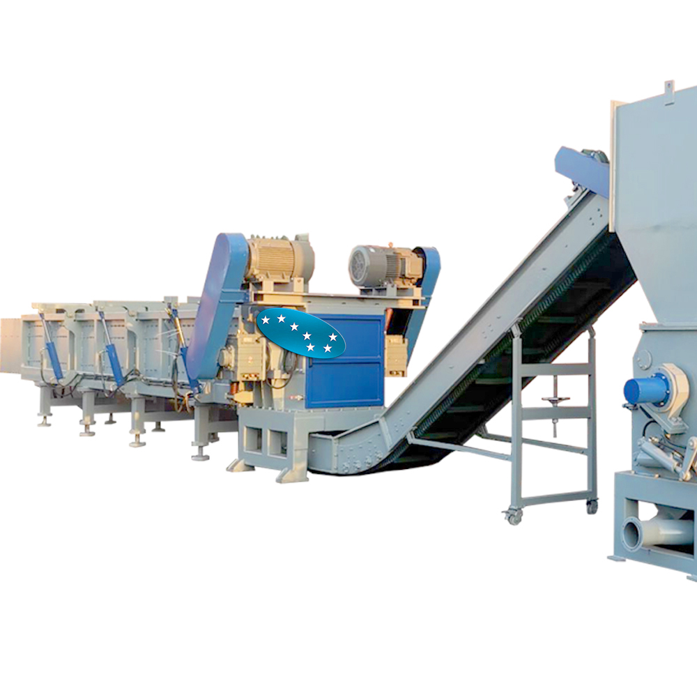 large size  pipes recyclinng machine for gas supply pipe water supply pipe