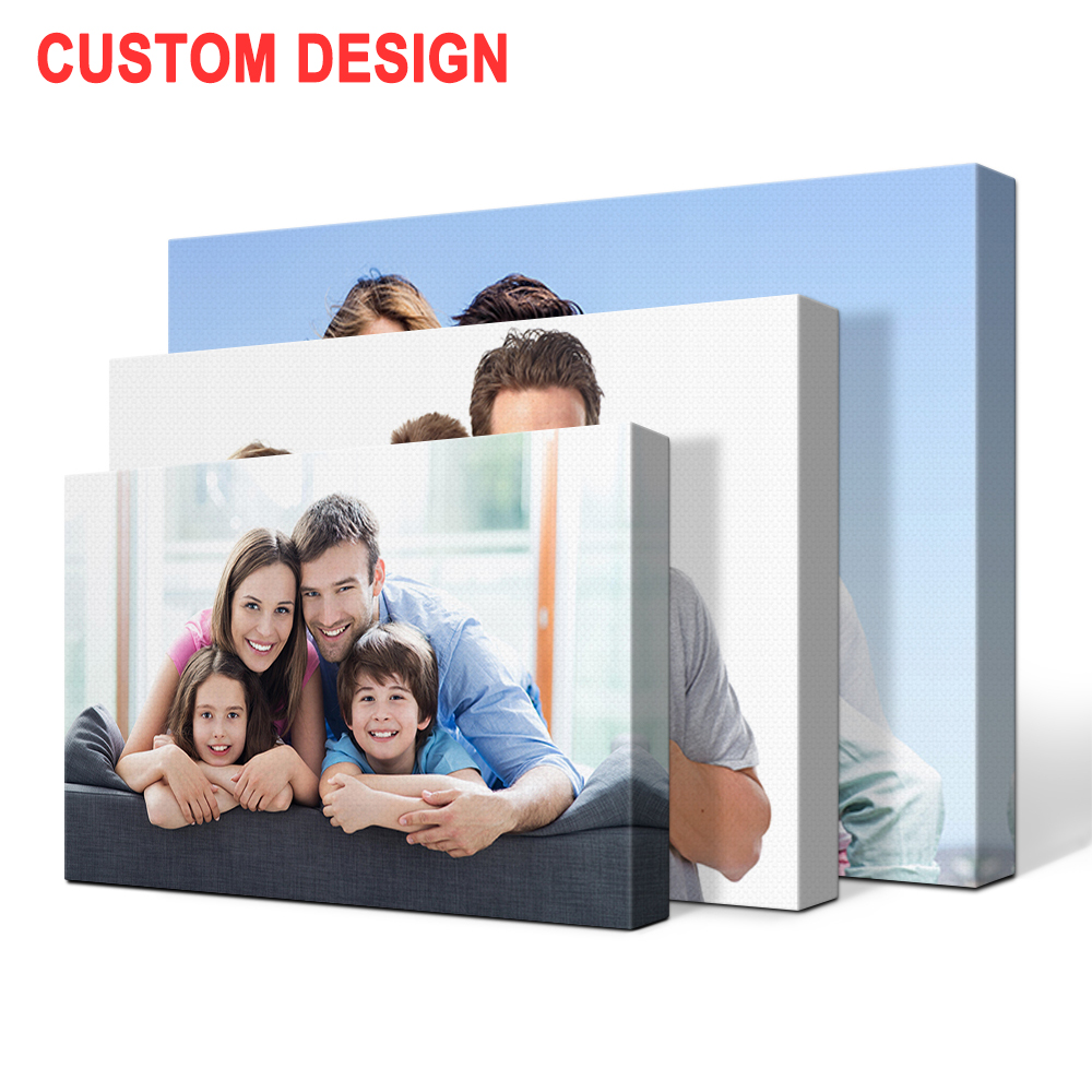 Professional Stretched frame digital picture Custom canvas prints