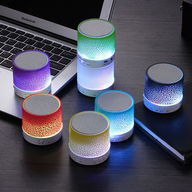 Haut-parleur Portable Bluetooth Coloré Led Tactile Sans Fil Bluetooth Haut-Parleur