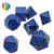 high polyhedral game zinc alloy popular precision dice set holder with metal case
