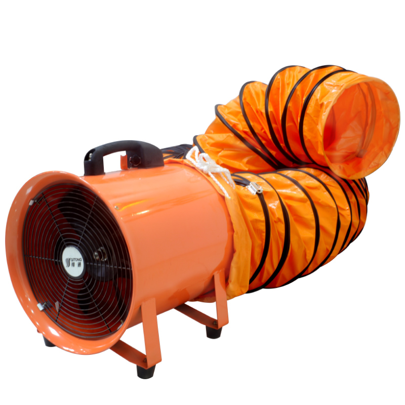 <strong>8</strong> inch 200mm 110V <strong>Portable</strong> <strong>ventilation</strong> exhaust fan ducted fan flexible duct Small volume strong power centrifugal blower