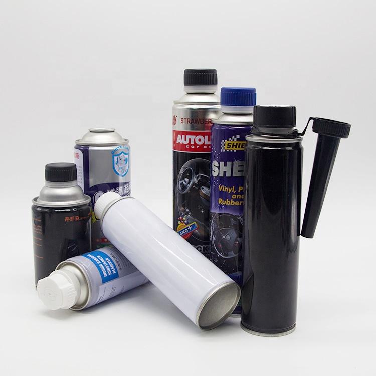Free sample metal aerosol tin can for cleaner aerosol spray