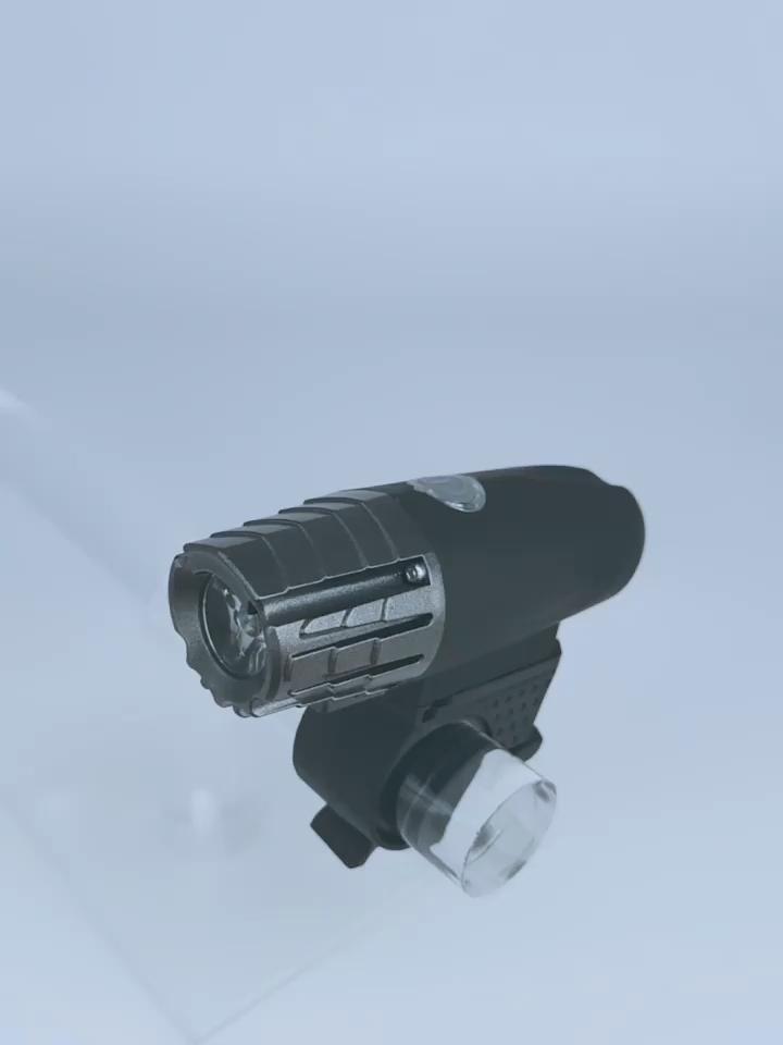 Amazon ร้อนขายซูเปอร์ที่มีประสิทธิภาพ300 Lumens จักรยานด้านหน้าแสง USB ชาร์จไฟจักรยาน