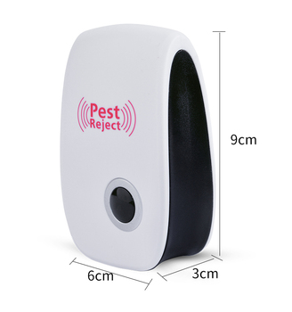 Ultrasonic Pest Repeller Electronic Mosquito Killer Reject Bug Mosquito Cockroach Mouse Pest Killer Repeller US/EU/UK plug