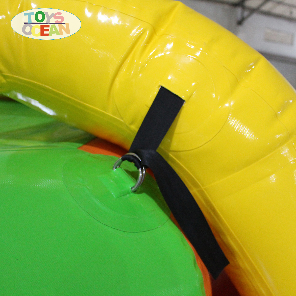 Customize Inflatable Floating Water slide For sales