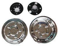 16/17.5/19.5/22.5 inch stainless wheel hub cover