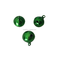 High quality 8mm Copper Bell ,Green plate style Christmas bells