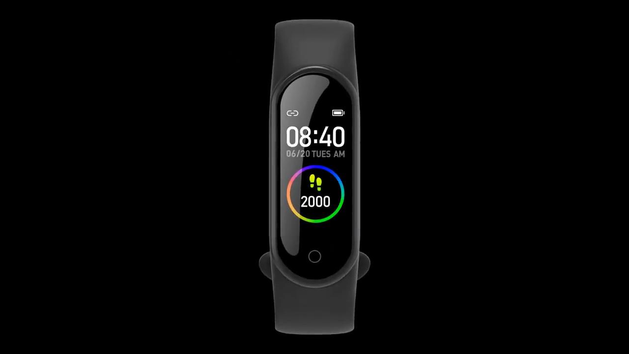 2020 hotsale סגנון למעלה חכם צמיד שעון IP68 עמיד למים ספורט שעון M5 חכם שעון צמיד