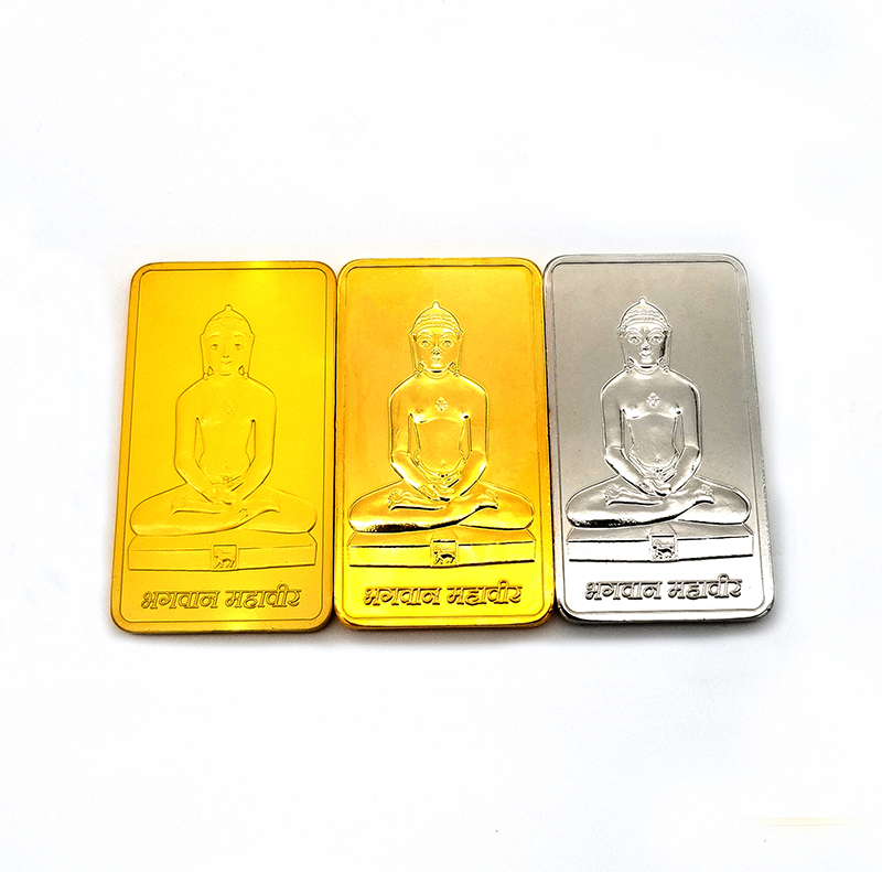 wholesale india Buddha <strong>logo</strong> 1 gram 999 silver bar bullion 1 ounce fake and real gold plated bars 24k pure bullion souvenir