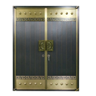 Metal Copper Door New Design Door Skin Exterior Entry Doors Main Door Wood Carving Design