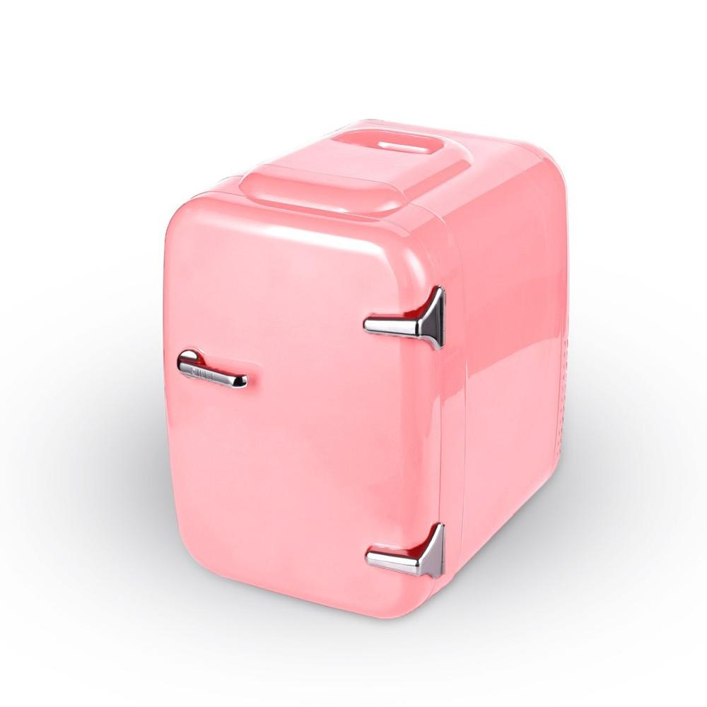 12V Car Home Refrigerator Fridge Mini 4L Makeup Beauty Fridge Hotel Mini Bar Fridge