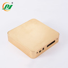 Customized Gold color Aluminium Enclosure Box For for Electronics