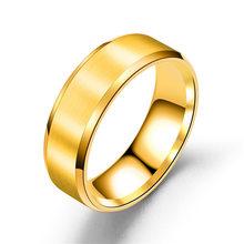 Новинка, кольца из титановой стали для женщин, пара, индивидуальные мужские черные кольца, ювелирные изделия для влюбленных, обручальное ко...(Китай)