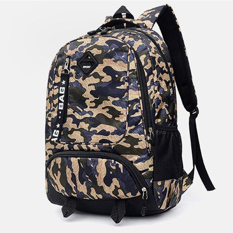 China Supplier Best Sell With Factory Sport Camoflouge School Backpack