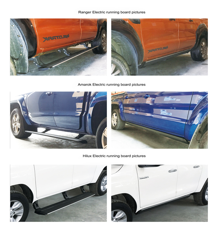 2016+ Electric Side Step Running Board For Toyota Innova