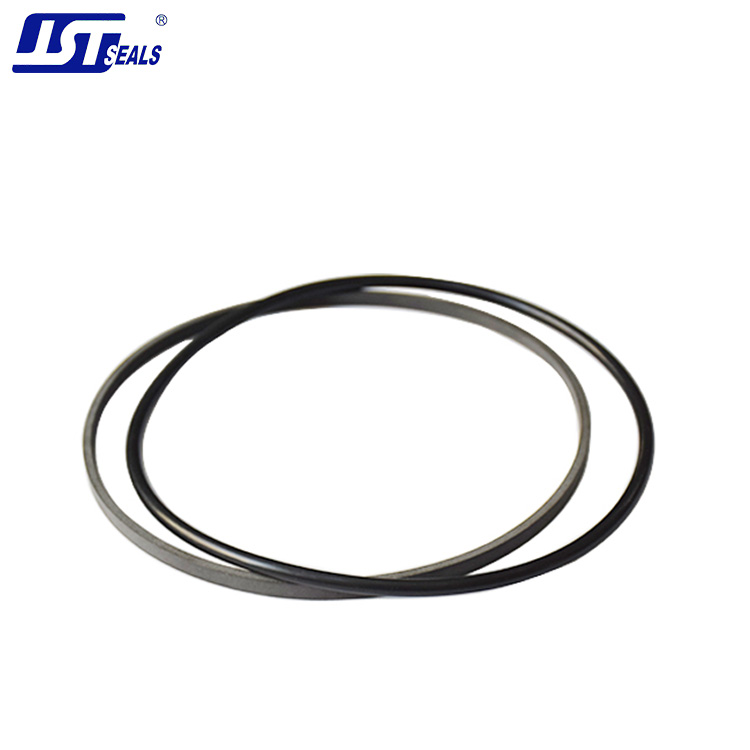 JST hydraulic cylinder rod oil PTFE seal with o ring