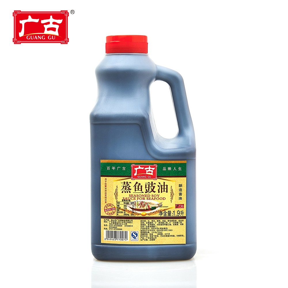 <strong>Factory</strong> Price Guanggu Steamed Fish <strong>Seasonings</strong> 1.9L Seasoned Soy Sauce For Seafood