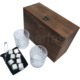 Best summer season gifts whiskey glasses set stainless steel stones ice cube