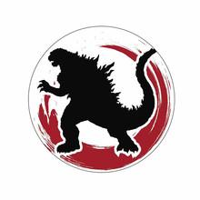 Автомобильные наклейки для Godzilla Defo настоящая статуя мягкие мотоциклетные лобовое стекло автомобильные аксессуары для ноутбука водонепрон...(Китай)