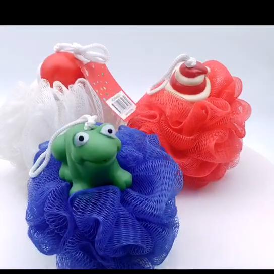 Оптовые продажи, рождественские товары, обучающие игрушки для ванной, резиновая утка, пищащая игрушка для ванной для ребенка