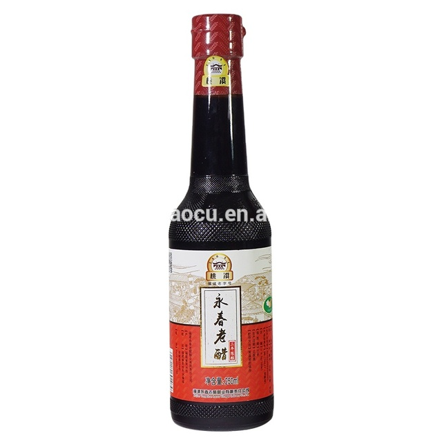 China produces bottled balsamic vinegar kitchen seasoning vinegar