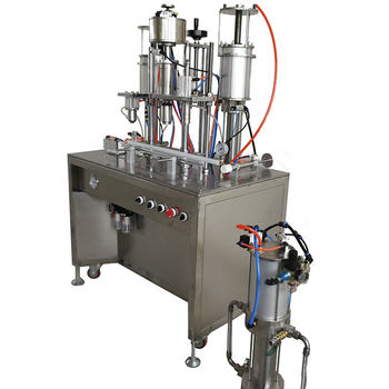 High quality 3 in 1 leather cleaner filling machine