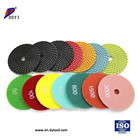 Floor Polisher Stone Free Sample Dry Or Wet Flexible Diamond Floor Polishing Pad Polisher For Polishing Granite Marble Stone Quartz Concrete