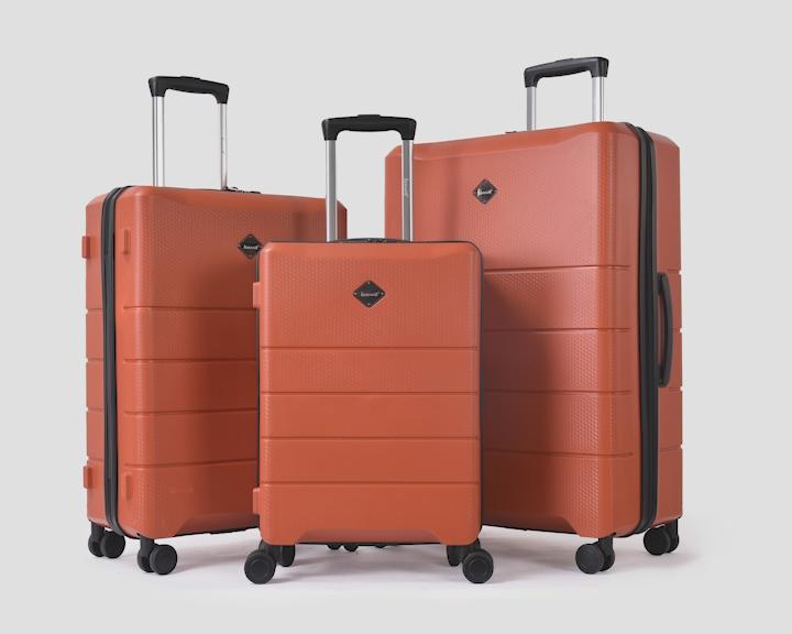 BUBULE Hot Sale China Supplier 3Pcs Scratchproof Trolley Bag Set Hard Shell Luggage Set